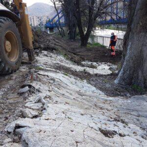 Výstavba protipovodňových opatrení Banská Bystrica