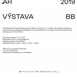 výstava CE ZA AR 2019
