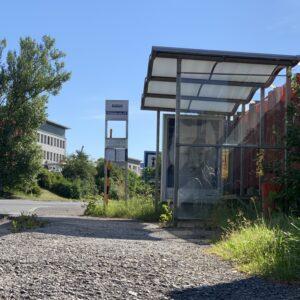Autobusová zastávka vybraná na rekonštrukciu
