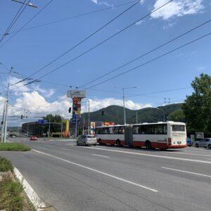 Križovatka Nám. slobody Banská Bystrica