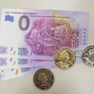 Suvenírová bankovka 525. výročie Thurzovsko-Fuggerovskej spoločnosti