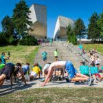 Parkour v rámci Európskeho týždňa športu v Banskej Bystrici