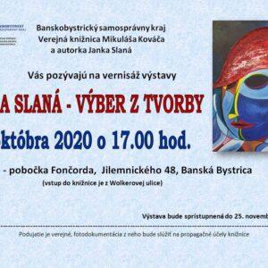 Janka Slaná -Pozvánka