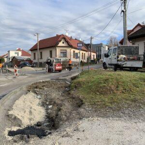 Stavebné práce v Rudlovej