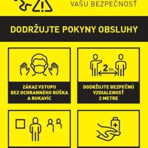 Zberna - pokyny COVID