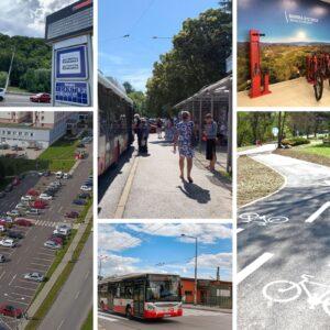 Plán udržateľnej mobility mesta Banská Bystrica