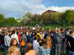 Otvorenie školského roka Banská Bystrica