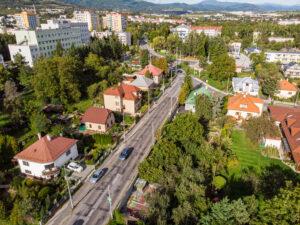 Rekonštrukcia cesty od Moskovskej po Tajovského ulicu